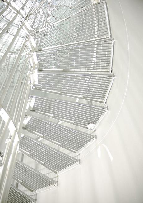 escalier-monochrome