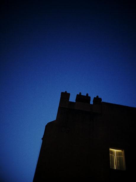 Photo à main levée depuis ma fenêtre au petit matin
