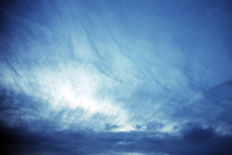 Tableau période bleue du ciel nantais
