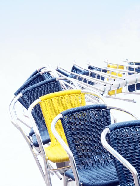 Voyage à Nantes - Des chaises à Bouffay